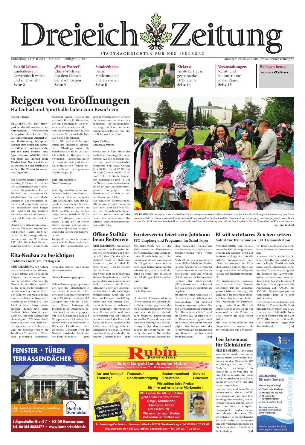 Dz online 020 14 c by Dreieich-Zeitung/Offenbach-Journal - issuu