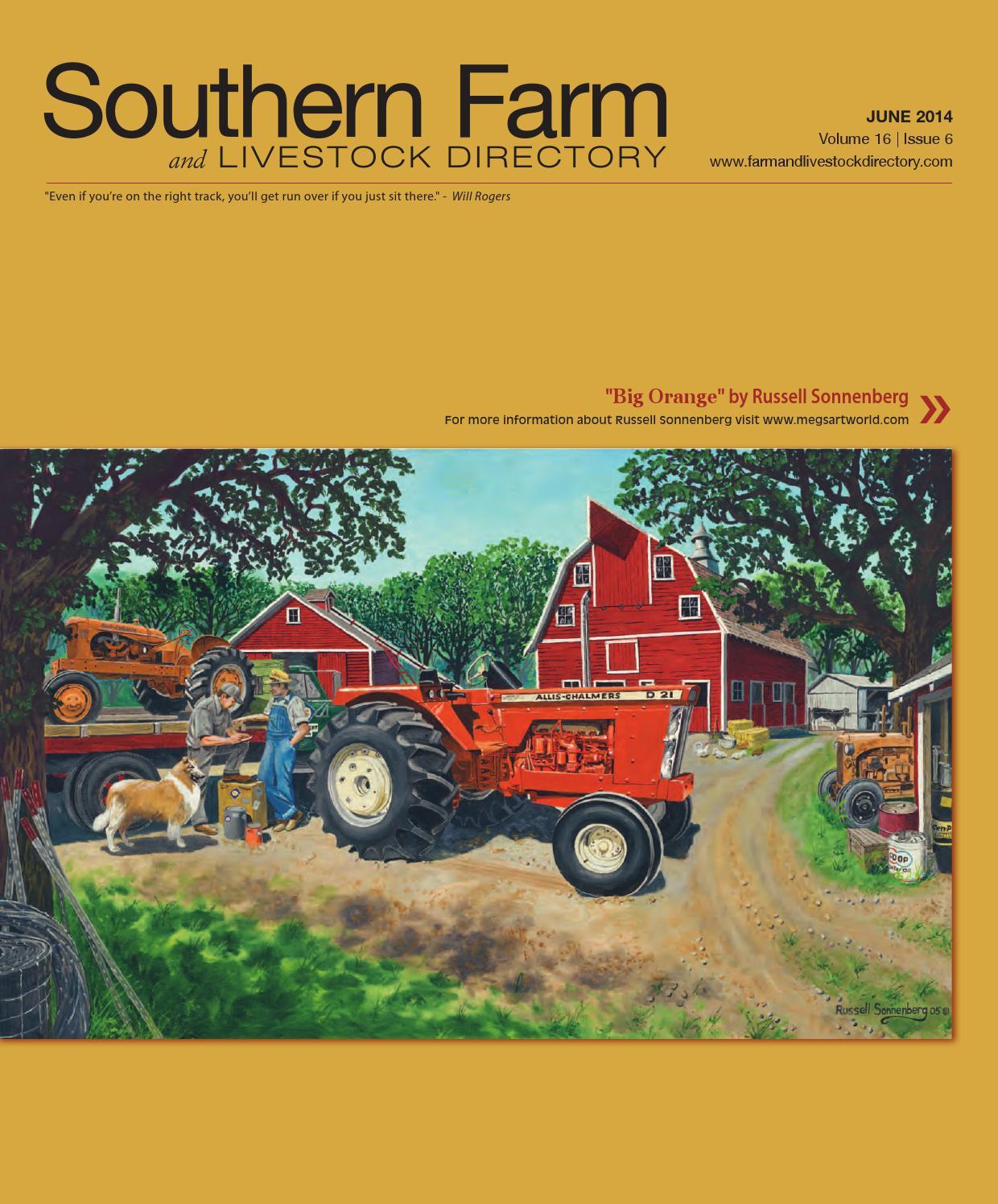 Russell Sonnenberg John Deere tractor art print titled Harvest Lights