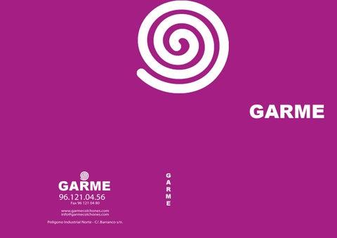 Catalogo completo Garme Colchones by Garme   issuu