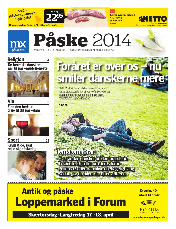 Mx Påskeavis 2014 By Mx Metroxpress Issuu