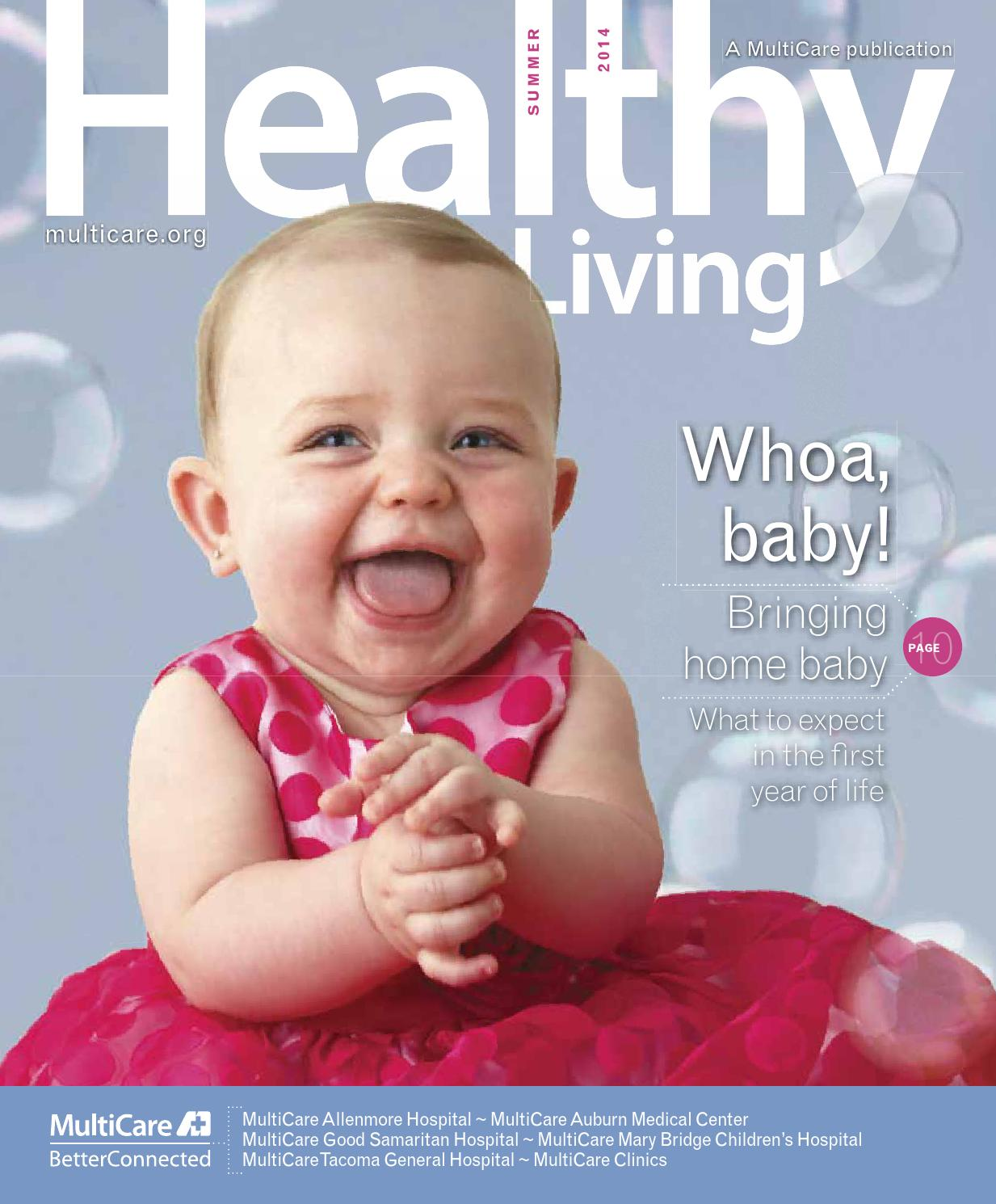 Healthy Living Magazine Spring 2014 By Multicare Health System Issuu