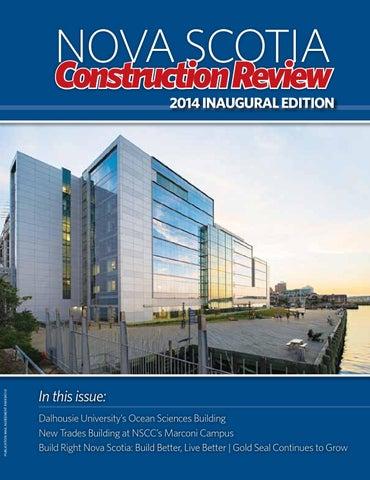 Nova Scotia Construction Review 2014 By Del Communications Inc Issuu