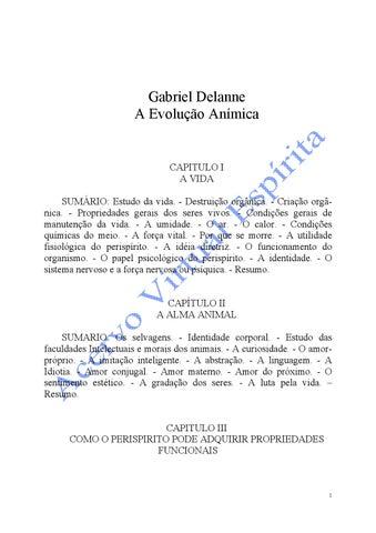 bd747b064b258 A evolução anímica (gabriel delanne) by Hanniel Cantare - issuu