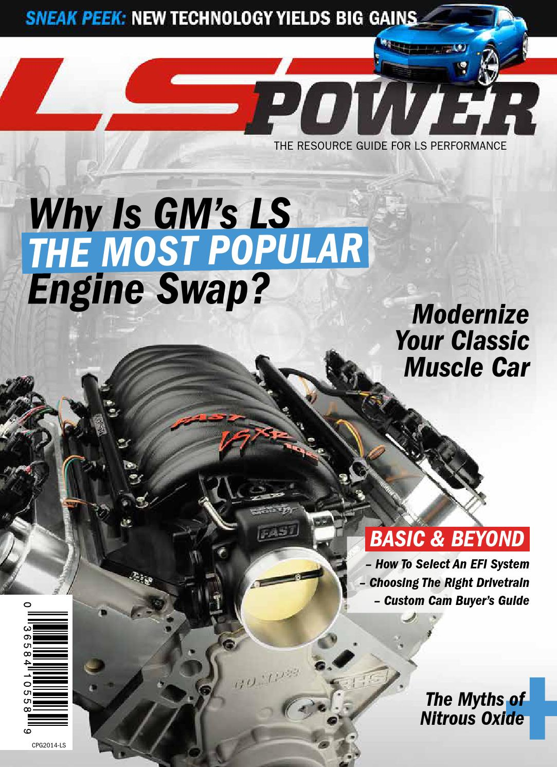 2014 Ls Power Magazine By Comp Performance Group Issuu 6 0 Gm Lq4 Engine Diagram