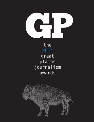 Great Plains Journalism Awards 2014 By Great Plains Awards Issuu