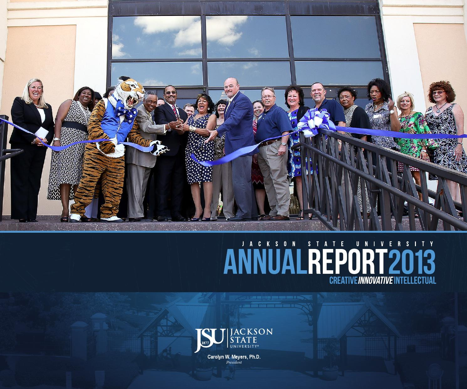 jsu 2013 annual report by jackson state university issuu