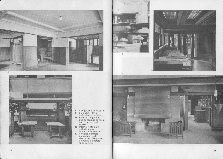 Stanza Studio In Casa zevi bruno frank lloyd wright | vebuka