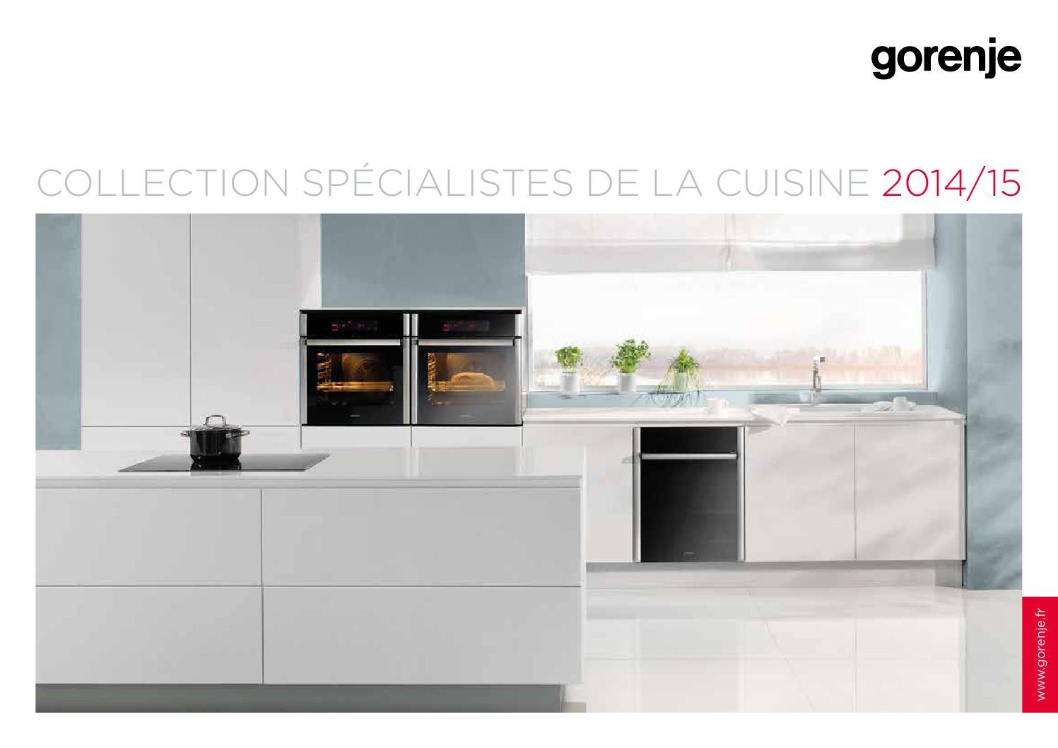 gorenje collection cuisine 2014 2015 by gorenje d d issuu. Black Bedroom Furniture Sets. Home Design Ideas