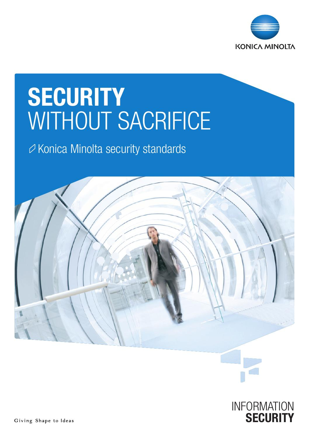 Security brochure 2 by Konica Minolta Business Solutions