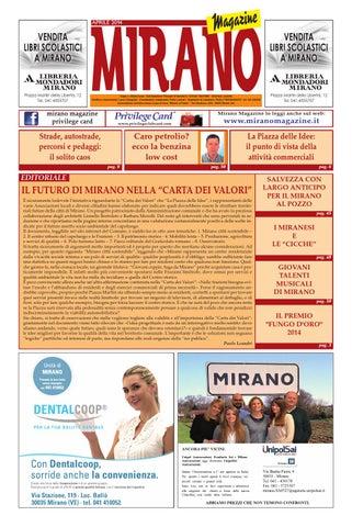 Mirano Magazine Aprile 2014 By Tobias Capo Issuu