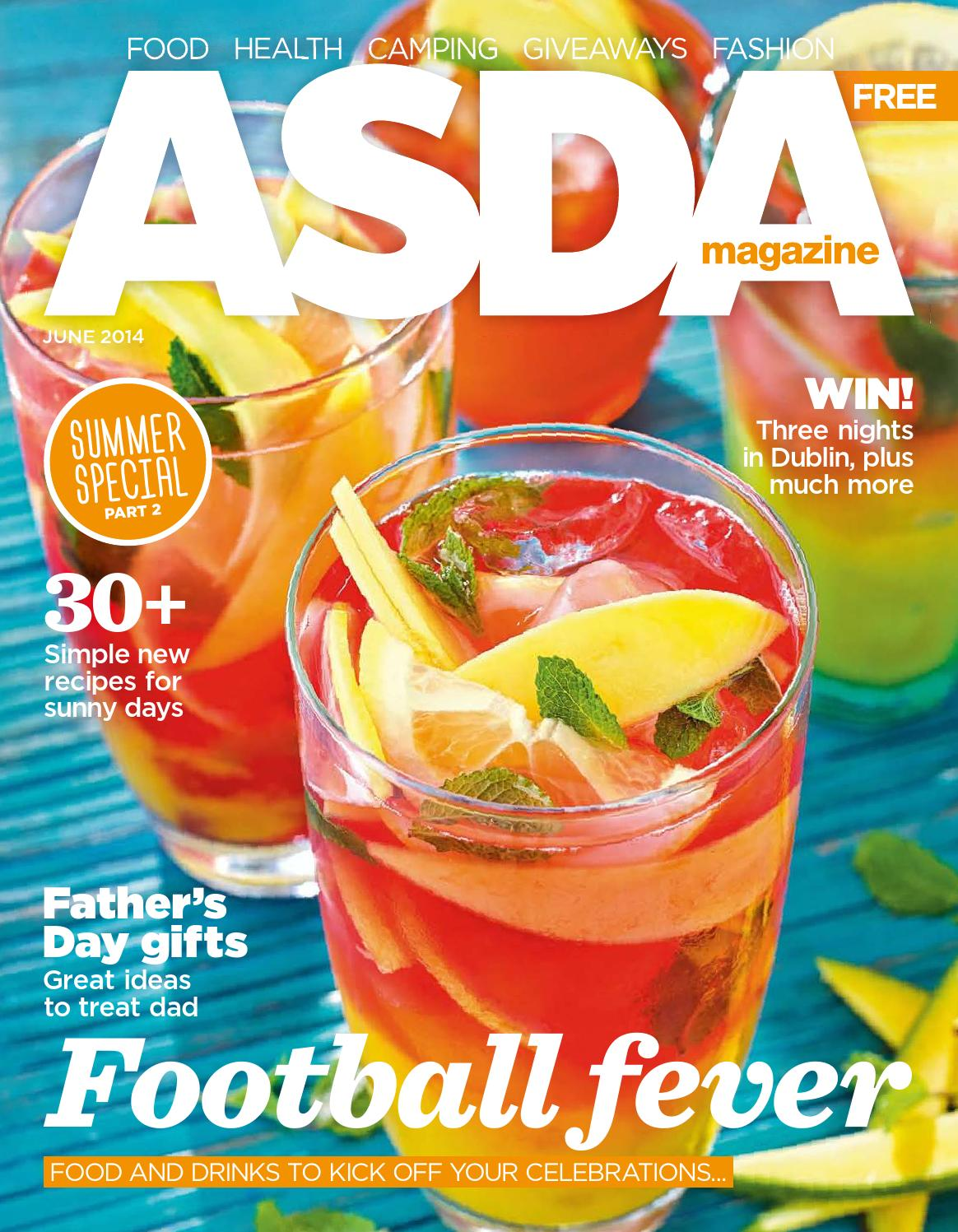 sc 1 st  Issuu & Asda Magazine - June 2014 by Asda - issuu
