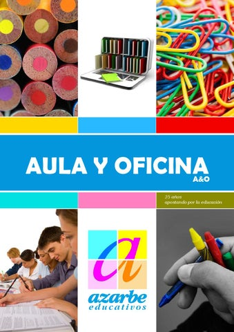 CATALOGO AULA Y OFICINA. Campaña Escolar Curso 2014-2015 by Azarbe ... 88959234ca8