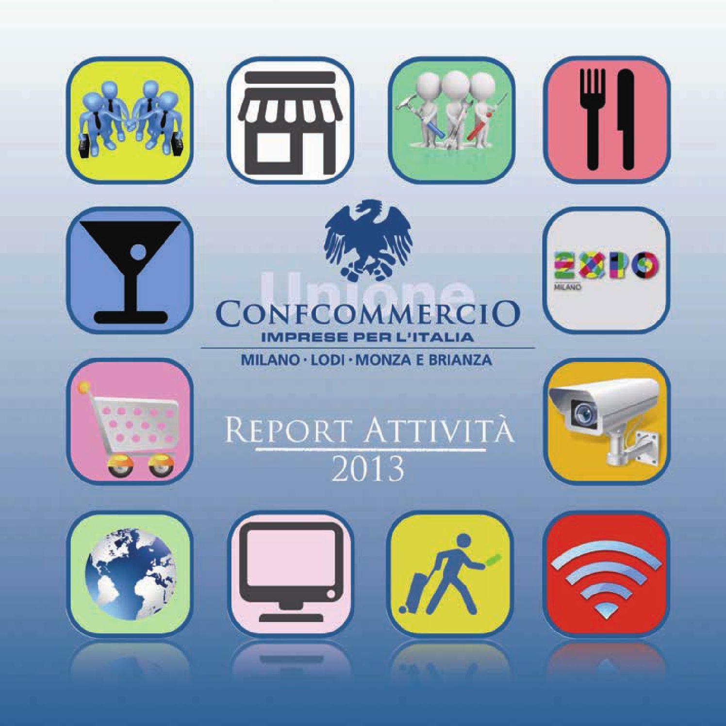 Calendario Rimborsi Qui Ticket 2020.Report Attivita Confcommercio Milano 2013 By Confcommercio