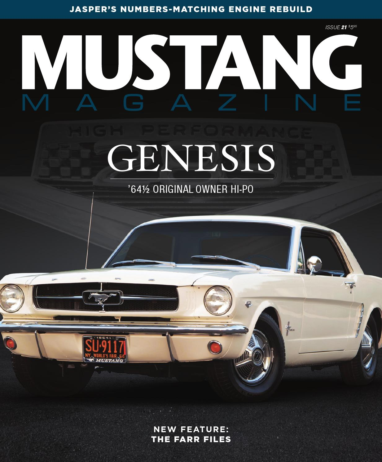 Mustang Magazine Issue 21 By Issuu Ground Wiring Diagram 71