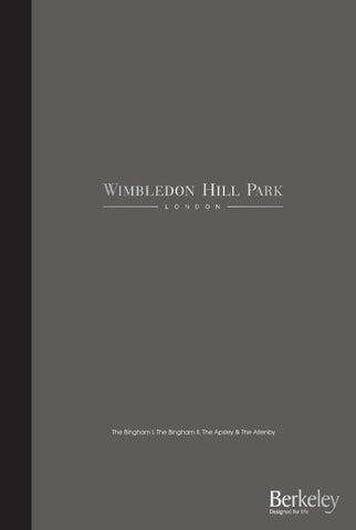 Berkeley Homes Wimbledon Hill Park Modern Brochure
