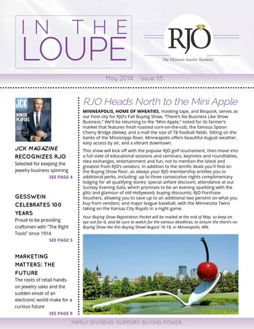 0f48455500e5e In the Loupe: May 2014 by RJO inc - issuu
