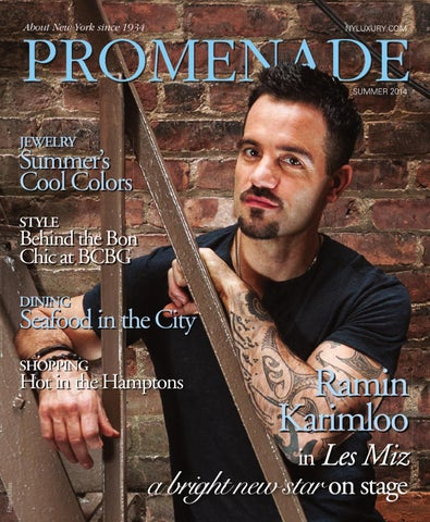 Promenade - Summer 2014 by Promenade Magazine - issuu 9bd3c44c83fb