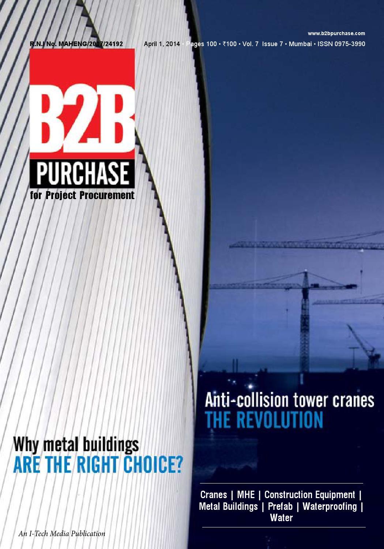 B2B Purchase April 2014 by I-Tech Media Pvt Ltd - issuu
