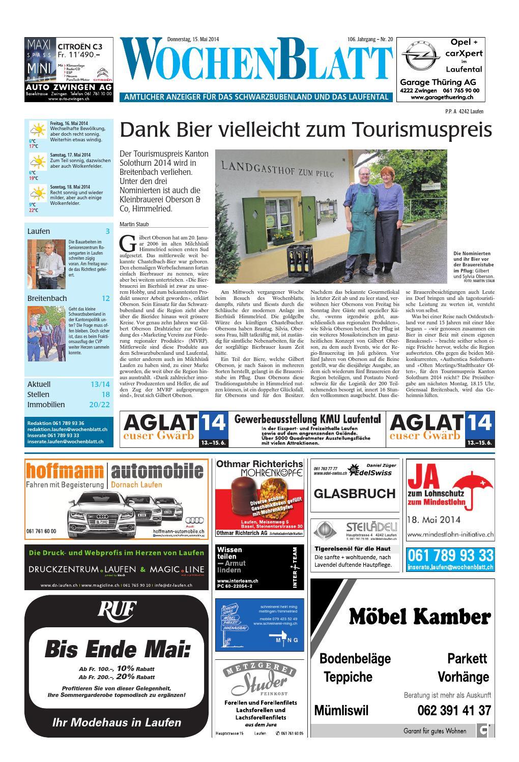 20140515 woz wosanz slim by az-anzeiger - issuu, Hause ideen