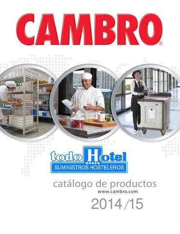 Catalogo 2014 del fabricante Cambro de Todohotel by TodoHotel - issuu 102f8bea74e8
