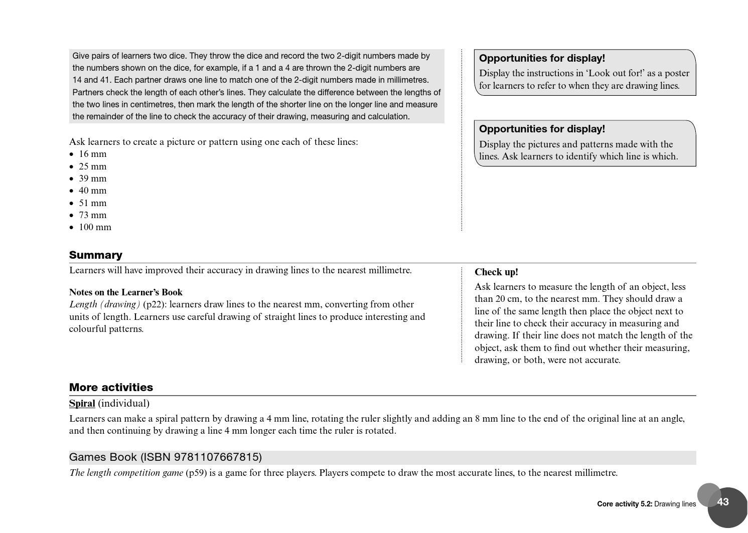 Cambridge Primary Mathematics Teacher's Resource 6 by