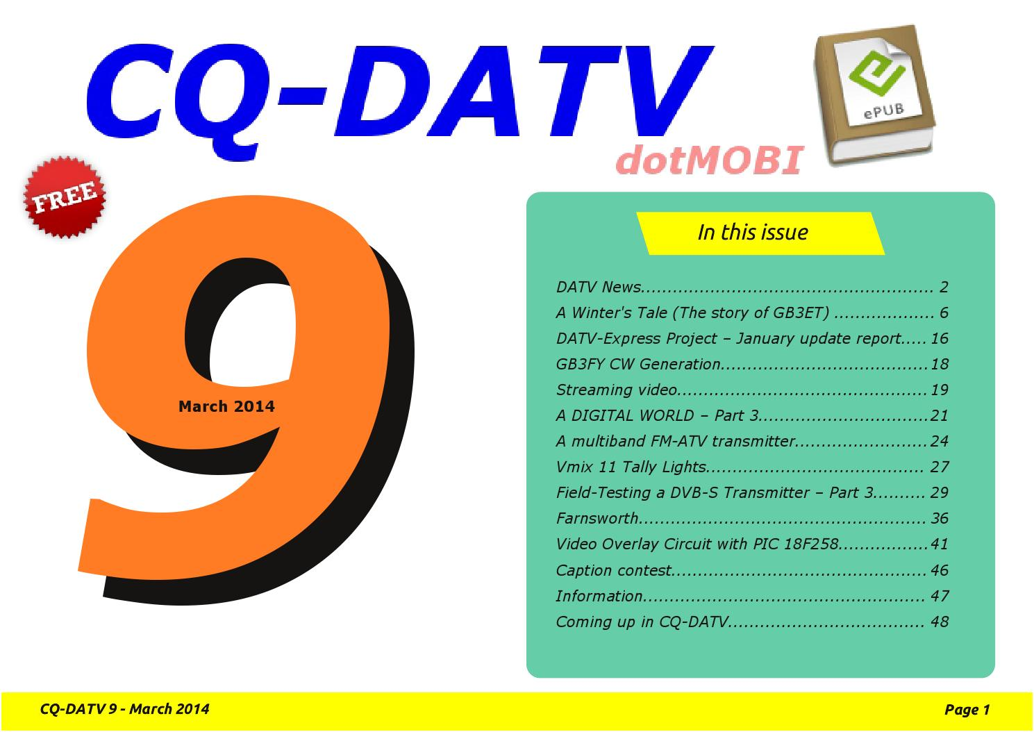 Cq datv9 by CQ-DATV - issuu