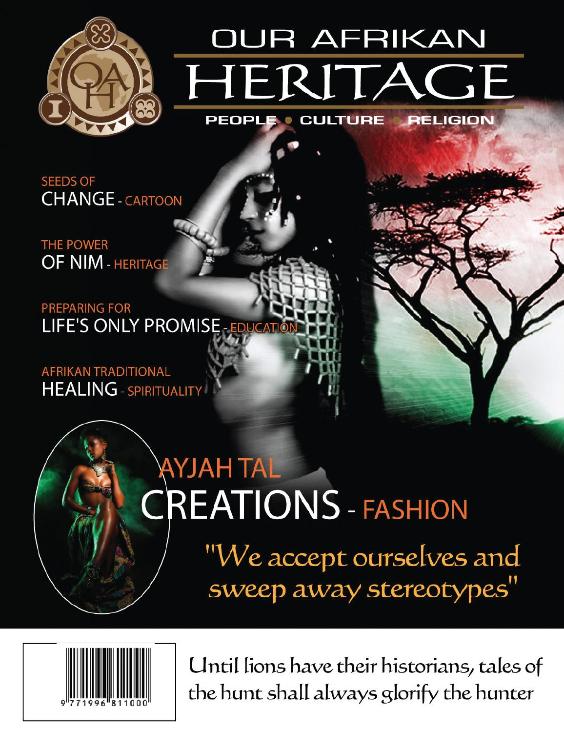 Image result for our afrikan heritage magazine barbados""