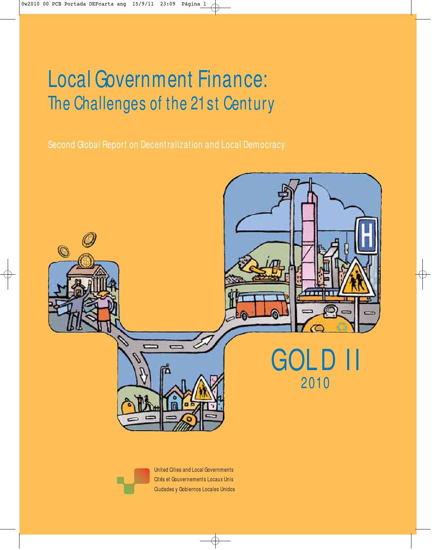 Gold II: Local Government Finance by UCLG CGLU - issuu