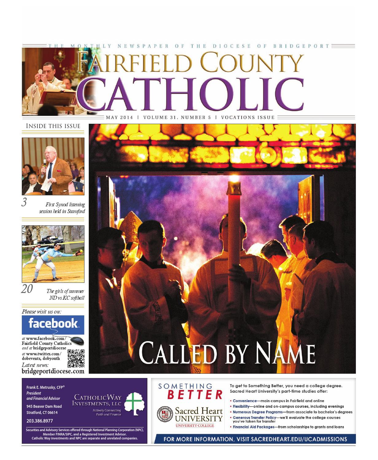 catholic singles in fairfield county Explore 2019 school ratings and statistics for catholic schools in fairfield county compare the best catholic schools near you.