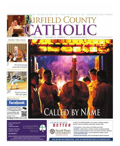 Fairfield county catholic may 2014 by the diocese of bridgeport issuu page 1 fandeluxe Choice Image
