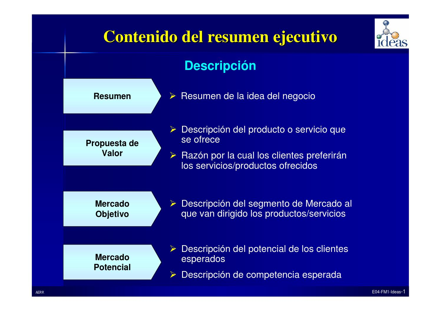 Ejemplo resumen ejecutivo by Diana Dieguez - issuu