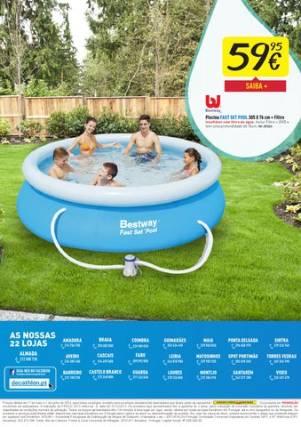 Oferta de piscinas decathlon ver o 2014 by decathlon for Piscinas desmontables decathlon 2016