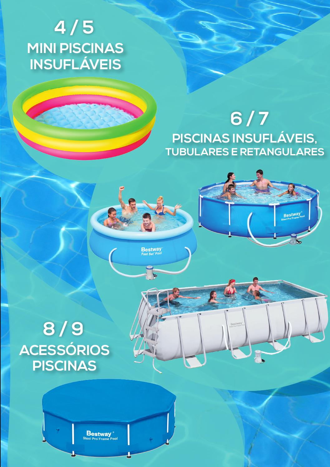 Oferta de piscinas decathlon ver o 2014 by decathlon for Piscina inflable decathlon