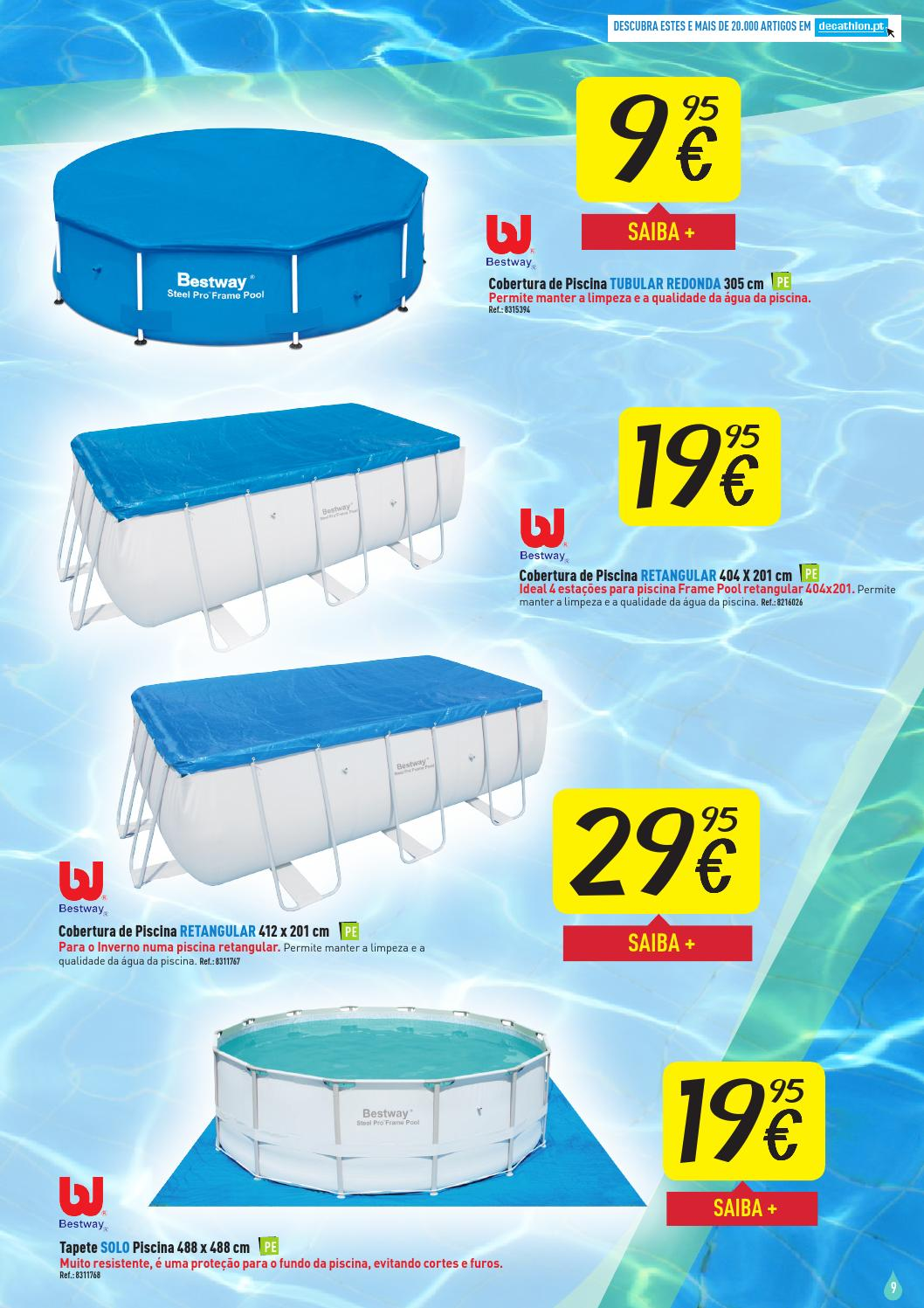 Oferta de piscinas decathlon ver o 2014 by decathlon for Oferta de piscina