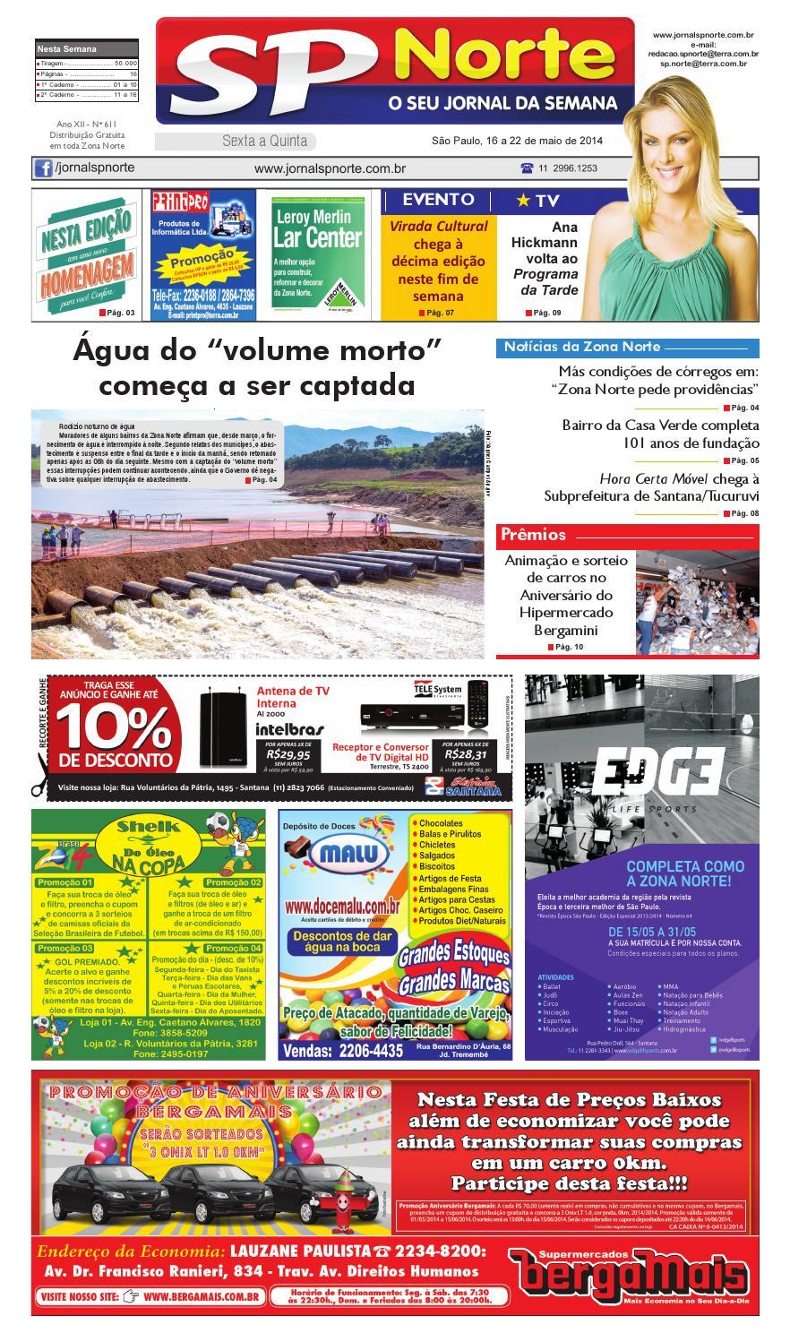 Jornal SP Norte 611 by Grupo SP de jornais - issuu b8c1aacb5f