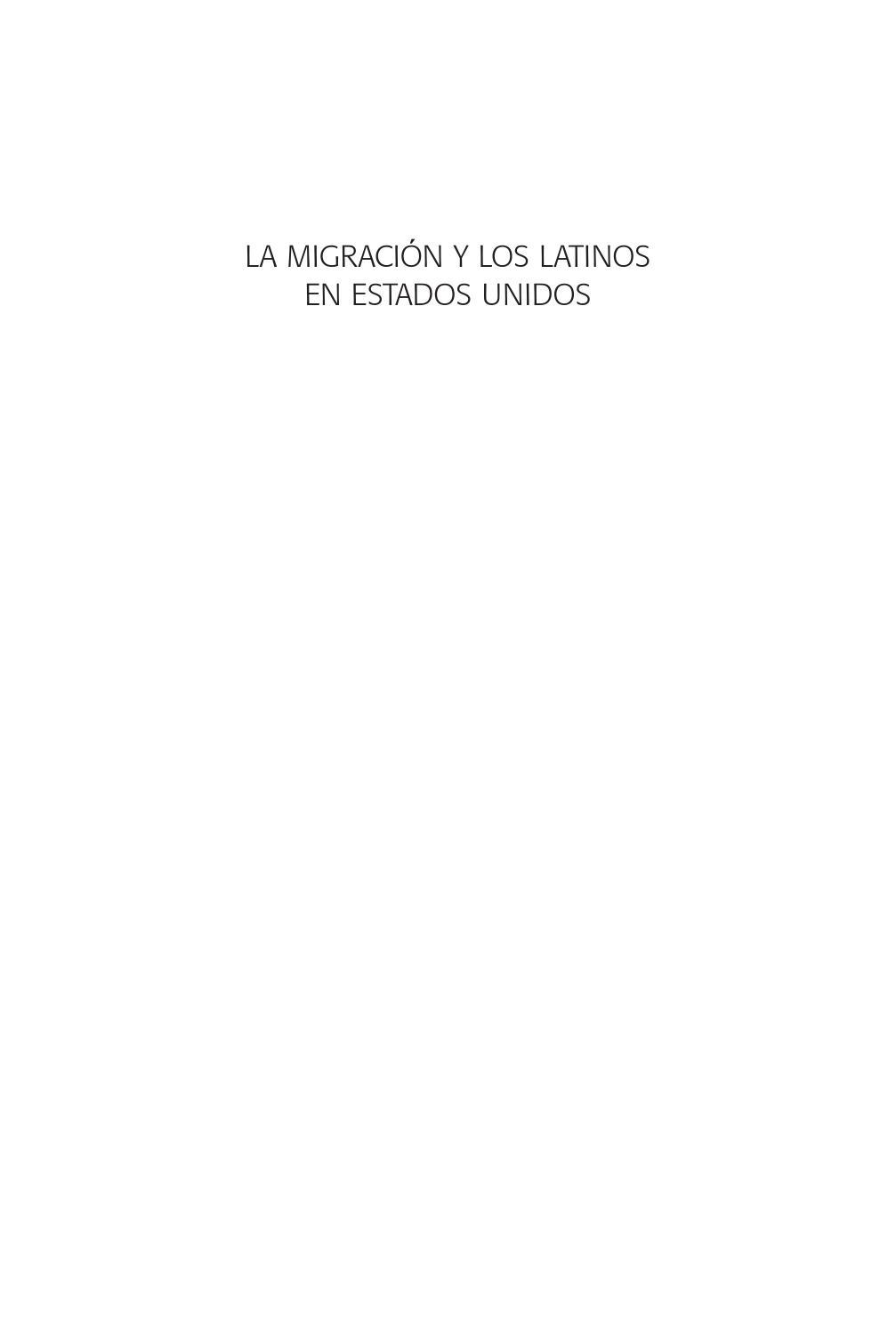 La migracion y los latinos 2da by cisan unam - issuu