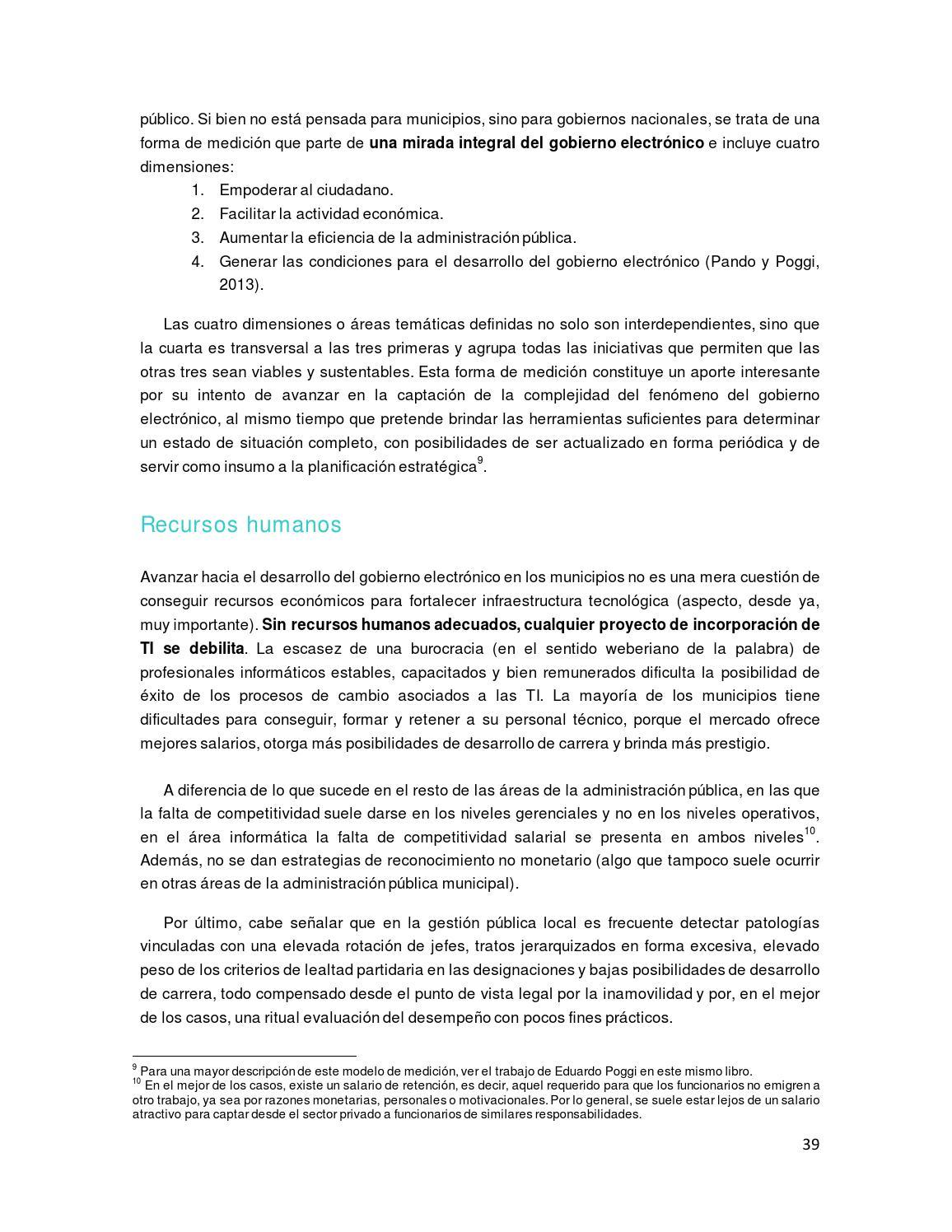 Ebook El Gobierno Electrónico A Nivel Local Experiencias
