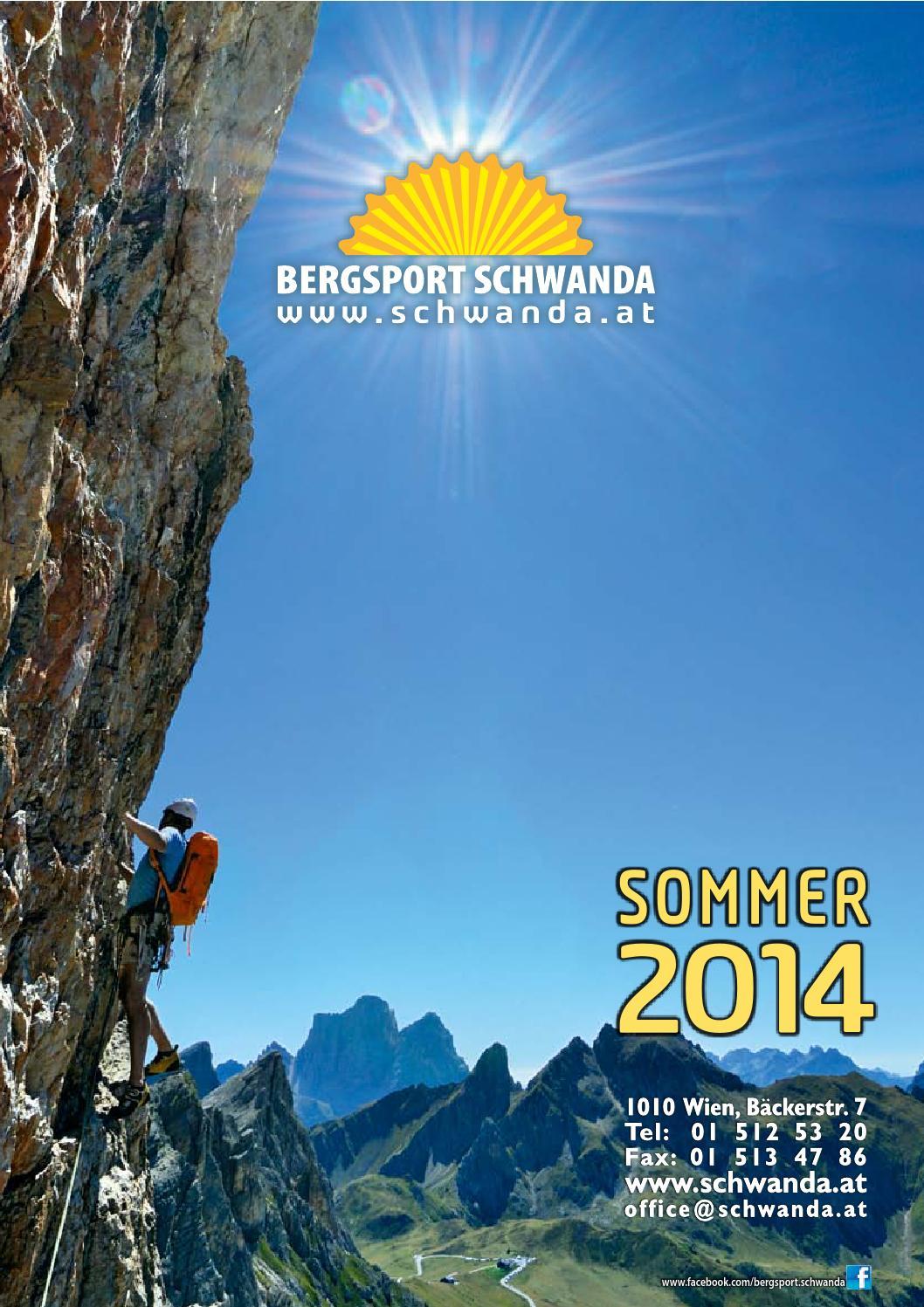 Issuu Sommer Schwanda 2014 schwanda Bergsport By Bergsport Super nP80kwO