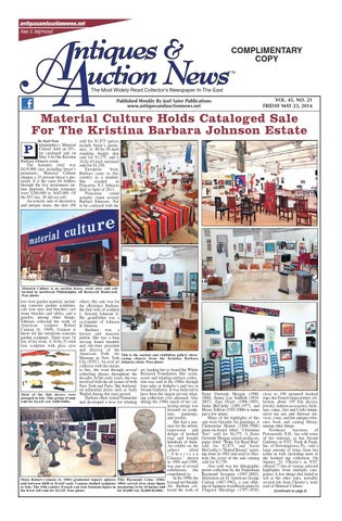 Antiques U0026 Auction News 052314 By Antiques U0026 Auction News   Issuu