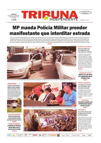 98c90956c Edição número 2046 - 17 de maio de 2014 by Tribuna Hoje - issuu