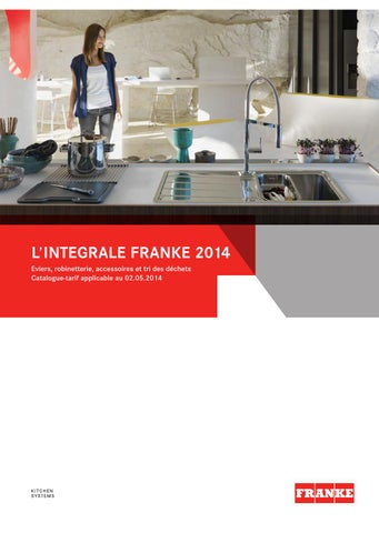 Max Franke Gmbh catalogue franke 2014direct vente ets pejout sarl - issuu