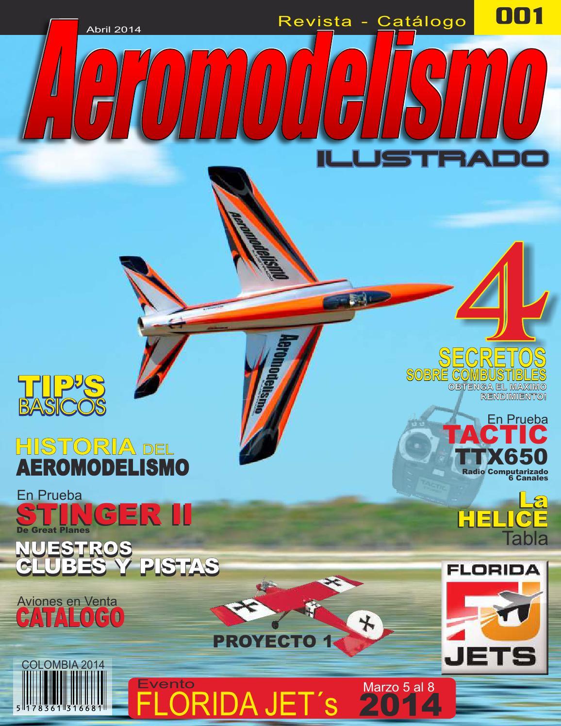 Revista Aeromodelismo Ilustrado Catalogo 1 by Aeromodelismo ...