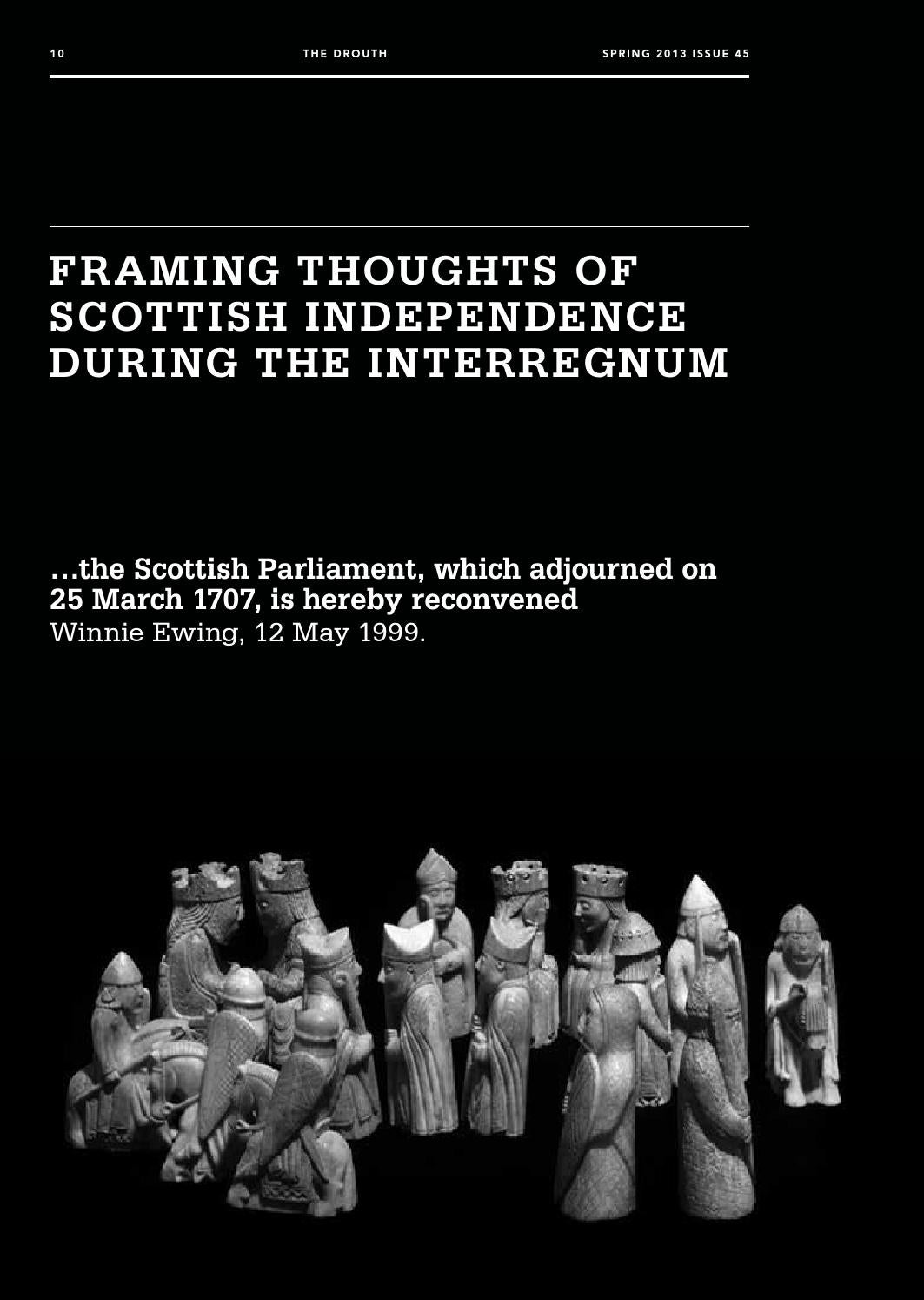 catriona macdonald framing independence by drouth   issuu