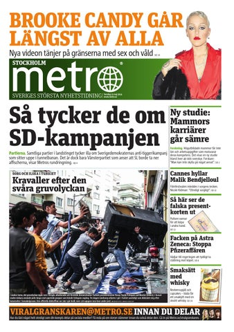 new style e5bb3 8ee95 20140515 se stockholm by Metro Sweden - issuu