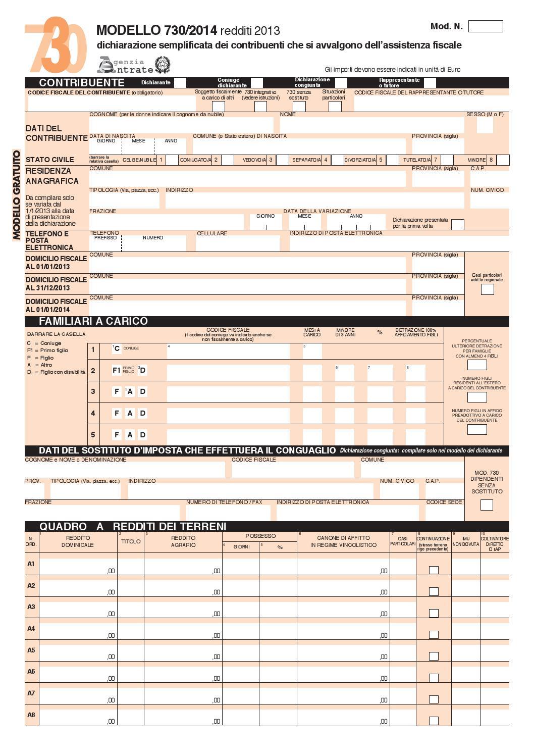 730 2014 by gambesa issuu for 730 obbligatorio