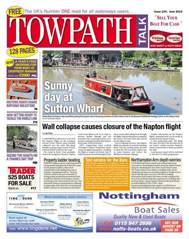Towpath Talk - June 2014 - FULL ISSUE by Mortons Media Group Ltd - issuu 942d9978d