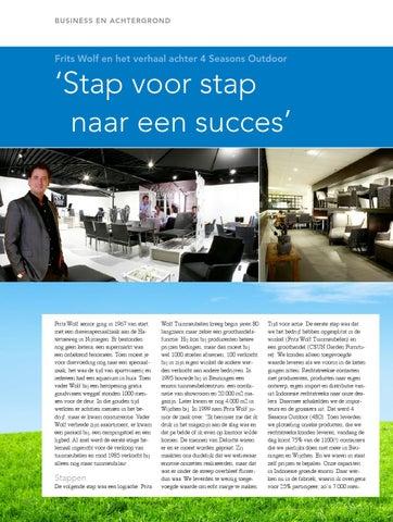 Frits Wolf Beuningen.2012 Nijmegen Business 1 Februari By Nijmegen Business