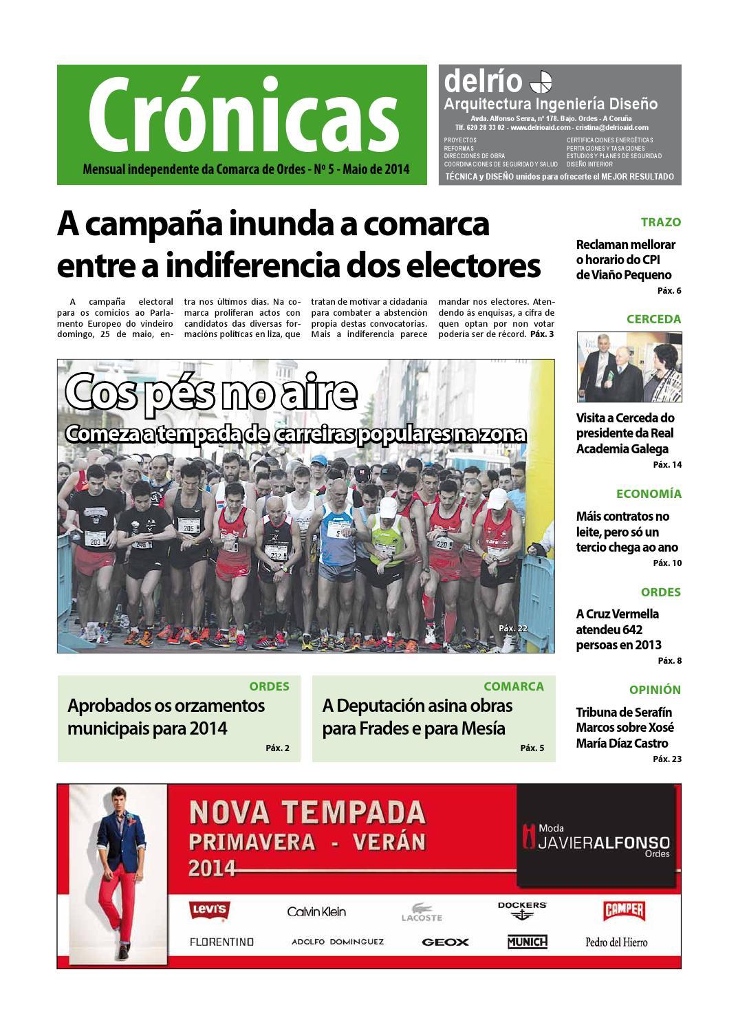 Cronicas Comarcadeordes N5 Maio2014 By Cr Nicas Peri Dico  # Muebles Visantona
