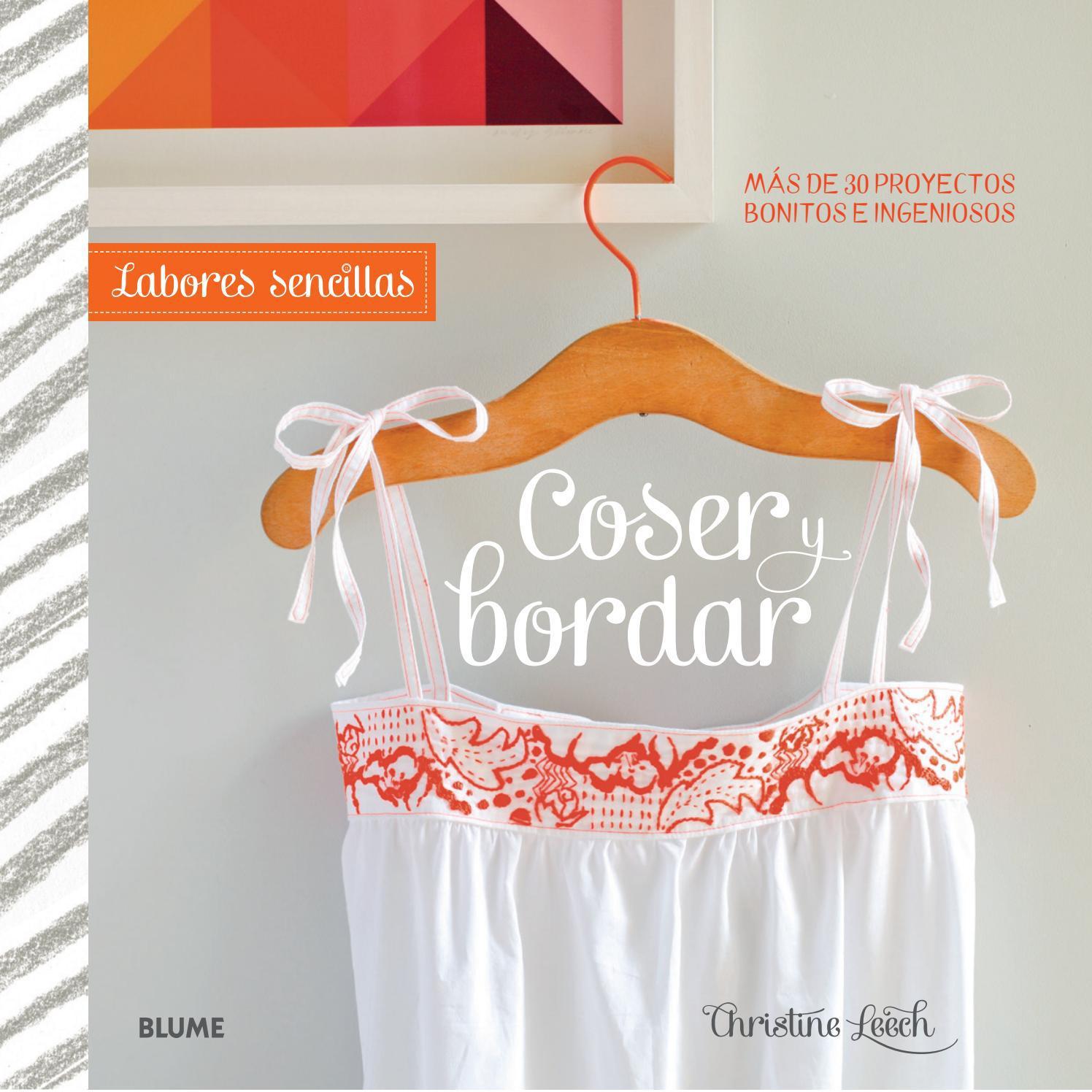 Coser y bordar by Editorial Blume - issuu