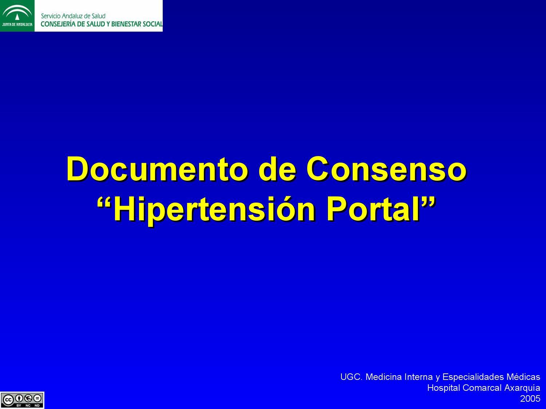 Complicaciones de la cirrosis i síntomas de hipertensión portal